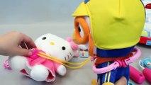 Finger Family Songs | Five Little Ducks Hello Kitty Doctor Kit Play set Doll Toys Sleeping