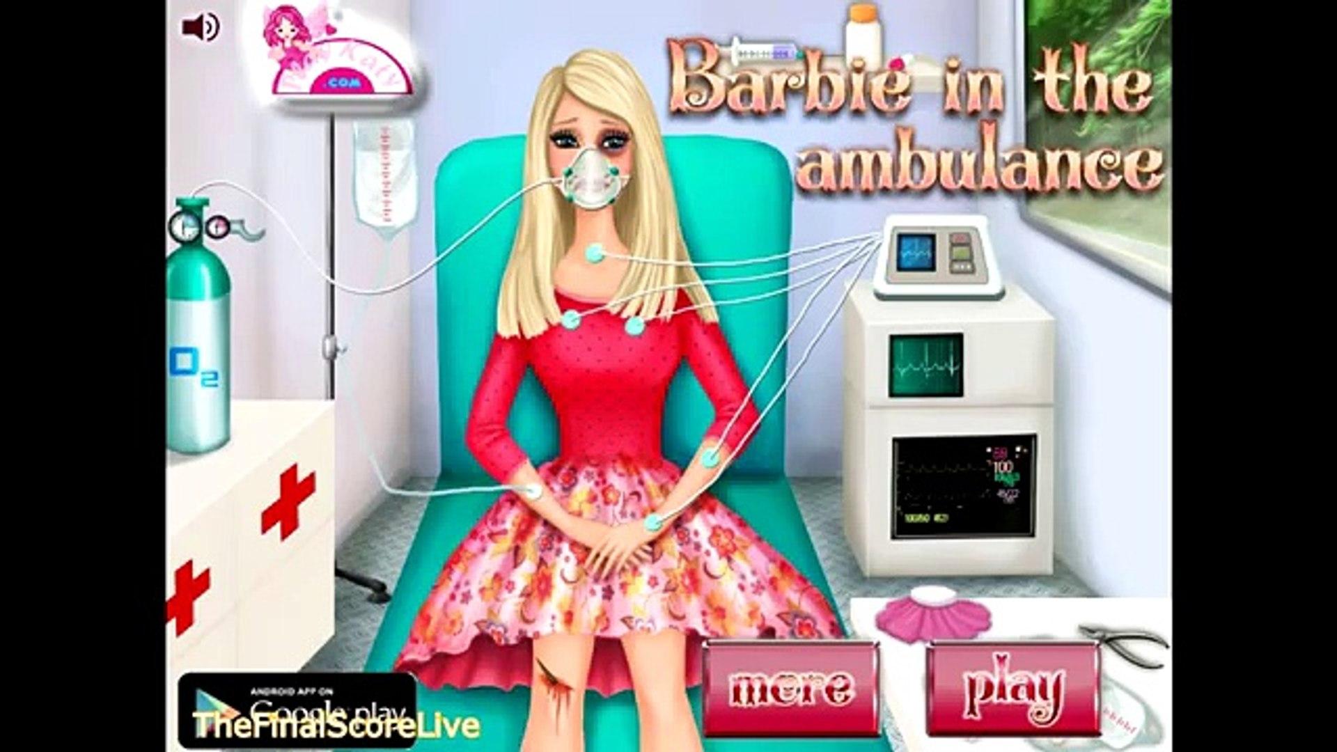 Скорая помощь Барби игра Игры в в в в Онлайн играть в Кому Это