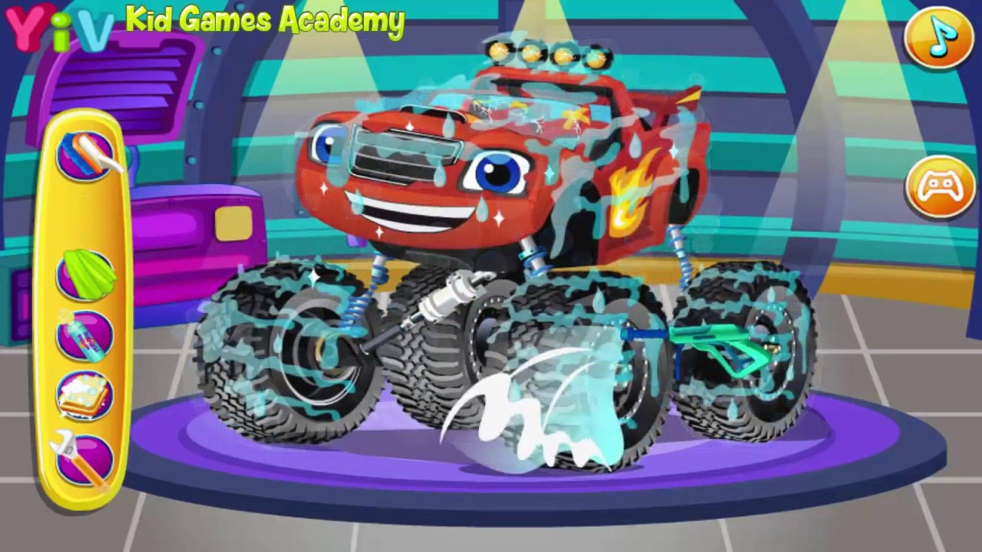 Blaze And The Monster Machines games | Blaze Monster Truck | 2016 [HD]