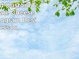 Personalized Slate Cheese Board Custom Engraved Slate Cheese Board Monogram Design