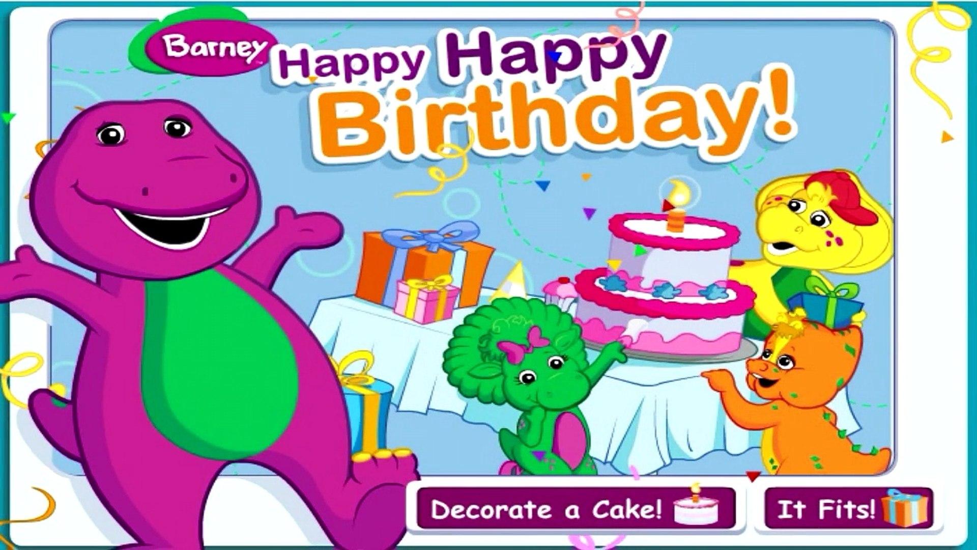 Happy Birthday Barney Printable Coloring Page | Barney birthday ... | 1080x1920