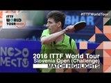 2016 Slovenia Open Highlights: Tomokazu Harimoto vs Adam Szudi (R16)
