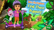 Dora Find Those Puppies | Dora the Explorer - New Game Walkthrough (Based on Cartoon)