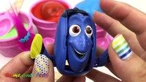 Ice Cream Clay Slime Surprise Eggs Disney Finding Dory Disney Frozen Trolls Pokemon Toys Fun Kids-Nebj7VbnKjo