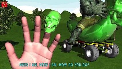 Человек-паук поездка Скелет банан автомобиль Конфеты палец Семья и Подробнее питомник рифмы в