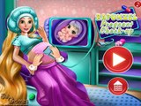 Barbie Rapunzel Pregnant Check Up - Barbie Baby games videos for girls - 4jvideo