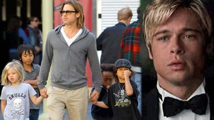 Brad Pitt Has EMOTIONAL REUNION With Kids After Their London Trip With Angelina Jolie