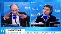 Nicolas Dupont Aignan, star de la semaine
