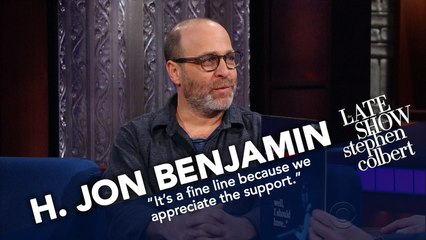 H  Jon Benjamin Doesn't Play An Instrument, But Recorded A Jazz