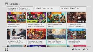 Nintendo Switch Nouvelles Nintendo eShop