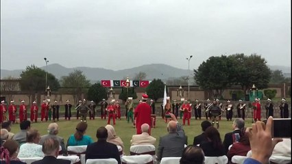 Turkish Military Band Mehter Performed on Dil Dil Pakistan