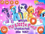 Which My Little Pony Character Are You? My Little Pony Games   Kids Play Palace