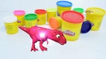 Dinosaurs Vs Gorilla Play Doh Toys for Kids   Fun Making Play Doh Gorilla Toys for Childre