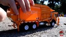 GARBAGE TRUCK Videos For Children l Kids Bruder Garbage Truck To The Rescue! l TOY TRUCK Videos Kids-AR3T