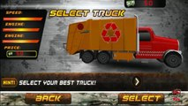 Garbage Truck Videos For Children l TOY TRUCK BATTLE Jumping Ramps l Garbage Trucks Rule-SLRJ