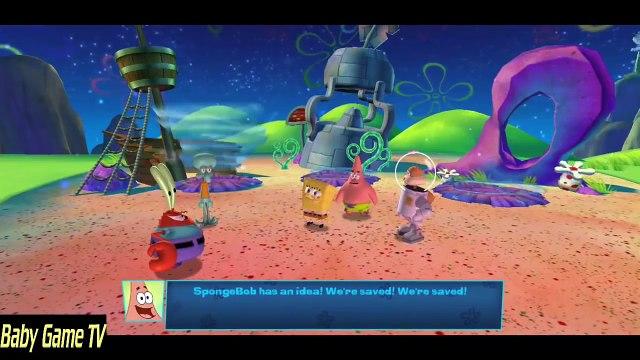 SpongeBob SquarePants Planktons Robotic Revenge - Movie All Cutscenes