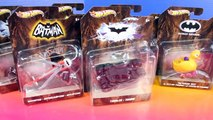 Hot Wheels Batman Cars With Tumbler And Batmobile-D7