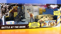 Batman The Dark Knight Rises Battle At The Bank Playset Bane Tries To Steal Money Tumbler Stops Him-yfPU