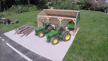 BRUDER RC tractor wood crash-ew