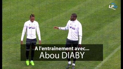 A l'entraînement avec... Abou Diaby !