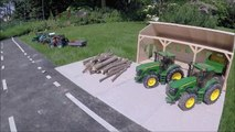 BRUDER RC tractor wood crash-ew8cPSx