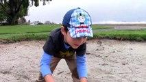 Toy Trucks for Kids - Tonka Construction Vehicles Digging in Mud - Dump Truck, Backhoe, Bulldozer-Xq