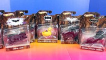 Hot Wheels Batman Cars With Tumbler And Batmobile-D7c