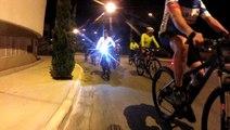 16 Night Bikers, Taubaté, SP, Brasil, pedal noturno na várzea do Rio Paraíba do Sul, Vale do Paraíba, SP, Brasil