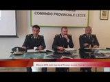 Bilancio 2016 della Guardia di Finanza leccese: illustrati i numeri alla stampa - Leccenews24