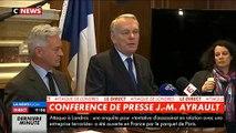 Attaque de Londres: Jean-Marc Ayrault s'exprime lors d'une conférence de presse