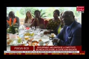 Focus Eco  développement amelioration de la compétitive des PME en Cote d'Ivoire, au centre d'une rencontre