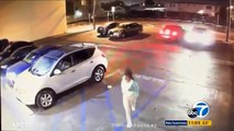 La victime d'une tentative de carjacking se venge de son agresseur en lui fonçant dessus