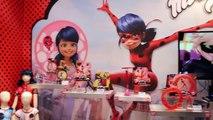 MIRACULOUS LADYBUG & CAT NOIR Dolls & Toys Ladybug Anime Toy Fair 2016 Bandai-r
