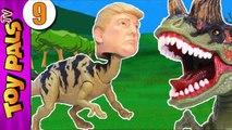 TRUMPOSAURUS Dinosaurs Revenge Jurassic Park World Toys Dinosaur Toy Kids Videos 9-gQun