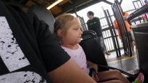 First Roller Coaster Ride Goes Wrong-EPIC Roller Coaster Fail