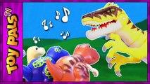 DigiDinos TOY DINOSAURS Singing to Velociraptor Dinosaur Interactive Toys Kids Video Review-gouGNpp