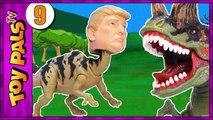TRUMPOSAURUS Dinosaurs Revenge Jurassic Park World Toys Dinosaur Toy Kids Videos 9-gQunABf