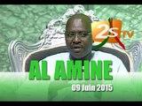 al Amine du 9 Juin Oustaz Abdoulaye Gaye reçoit EL Hadji Mamadou Lamine DRAME
