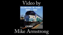 Amtrak P42 156 Phase 1 Leads the PRS Diamond Jubilee Special - April 2nd, 2011-TO