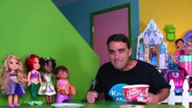 Disney Princess Aurora's Ice Cream Party! _ Toy Review _ Konas2002-o5n