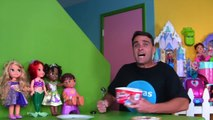 Disney Princess Aurora's Ice Cream Party! _ Toy Review _ Konas2002-o5nUIL