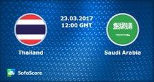 Thailand vs Saudi Arabia (Asian Qualifiers - Road To Russia)