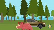GIANT T-REX Attack Park Ranger Aaron, LB Animated Cartoon Jurassic Adventure Dinosaur Movies w_ Hulk-EU
