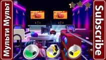Disney Pixar Cars Dinoco Ice Racer Lightning McQueen   Cars Daredevil Garage - NEON RACING