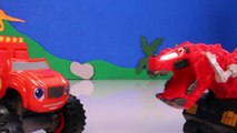 DINOTRUX Toys Ty RUX (Dinosaurs & Trucks) Gets Help from BLAZE AND THE MONSTER MACHINES Toypals.tv-zeDzItn7
