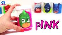 Learn Colors w_ PJ Masks Slime Surprises - Gooey Rainbow Clay Slime Surprises w_ Paw Patrol Surprise