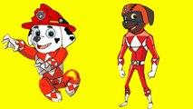 Coloring Pages Paw Patrol Transforms Into Power Rangers Superheroes Coloring Book for chil