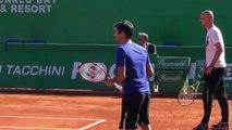 """ATP - Monte-Carlo Rolex Masters 2017 - Jean Couvercelle """"Je vois Roger Federer faire directement Roland-Garros"""""""