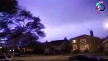 AMAZING Lightning Strike caught on camera   World's Most Shocking Lightning Strike ✔P84