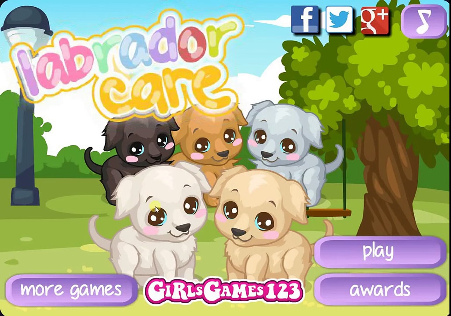 Labrador Care Pets Baby Bathing Game Walkthrough Full Episode